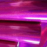 Película holográfica de carimbo quente da folha de alumínio para o plástico