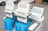 Holiauma 2017 Best 2 Heads Máquina de costura de vestuário computadorizada para uso comercial e industrial