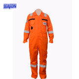 Orange Coverall Safety Working Clothing Vestuário de protecção Coverall Workwear