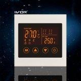Frame acrílico do interruptor programável do toque do termostato do aquecimento Underfloor (SK-HV100L8-L/M-W)