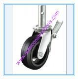 Sicheres haltbares Gummifußrollen-Rad für Baugerüst