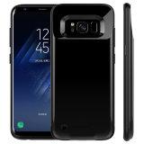 côté mobile portatif de pouvoir de caisse de batterie de 4200mAh 5200mAh pour la galaxie de Samsung S8 S8 plus
