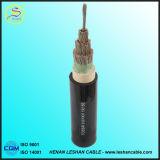 Collegare di rame/di alluminio del cavo elettrico del fodero del PVC dell'isolamento del conduttore XLPE