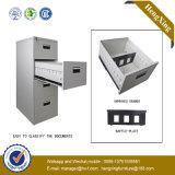 Armoire de rangement en métal en acier plaqué en poudre (bibliothèque, étagère) (HX-FCD4)
