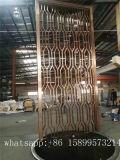 Painel de aço inoxidável perfurado com tela de alumínio Cortador de divisórias com cortinas decorativas