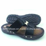 Модные сандалии PU тапочек людей продают Flop оптом Flip (FFCY0307-03)