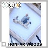 Rustikaler festes Holz-Abbildung-Foto-Rahmen für Hauptdekoration