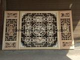 Decorazione di legno della costruzione di stile cinese