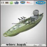 上の贅沢なデザイン販売のためのプラスチック海洋釣カヤックのボート