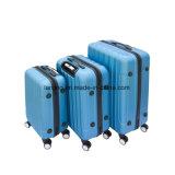 3 피스 수화물 여행 부대 자물쇠를 가진 고정되는 아BS 여행 가방