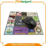 Borracha da forma e almofada de rato personalizadas de pano