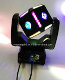 6X12W RGBW 4 em 1 de 6 Side LED Cube Ball Moving Head LED Beam Stage Light