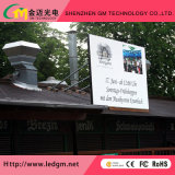 P10 de la publicidad de la pantalla LED de color para instalación fija