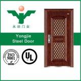 Nueva puerta de acero de la seguridad del diseño y de la alta calidad (SD-598)