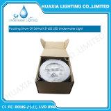 36watt IP68 imperméabilisent 12V la lumière enfoncée sous-marine de l'acier inoxydable DEL