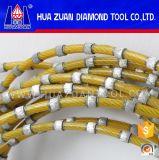 O fio do diamante de Huazuan viu para a estaca de mármore