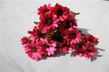 Дешевые Silk искусственние цветки маргаритки для украшения венчания