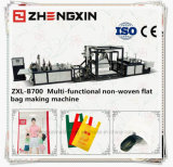 Sac shopping non tissé de supermarchés Making Machine (ZXL-B700)