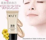 Crema de fundación cosmética de Concealer de la crema del Bb de la fundación de la cara de Afy 50g