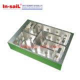 Алюминиевый подвергать механической обработке, плиты CNC металла филируя в хорошем качестве