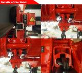 Machine de levage élévateur à chaînes de 35 tonnes avec le contacteur de Schneider