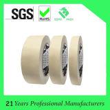 Adhesivo de caucho cinta de enmascarar de papel crepé de pintura para automóviles