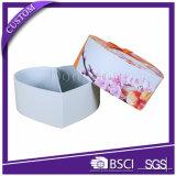 堅い中心の形の結婚式の好意のクラフトキャンデーのギフト用の箱