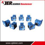 La aleación de aluminio serie RV/ Caja de engranajes reductor de gusano el gusano para motor dc