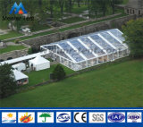 Tenda unica di cerimonia nuziale della tenda foranea di evento del tetto della curva di disegno di alta qualità