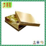 Custome imprimió el rectángulo de papel de la cartulina con la tapa y la parte inferior
