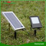 15W 120 LED angeschaltenes Panel-Flut-Licht-Nachtsolarfühler-im Freiengarten-Landschaftslicht