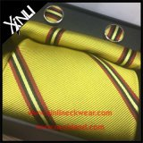 Los hombres forman la seda del 100% tejida al por mayor atan y el pañuelo fija