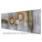 Druk van de Bloem van de Kunst van de Muur van het Olieverfschilderij van het Decor van het huis de Met de hand gemaakte op Canvas