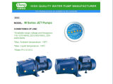 Bombas de uso en el hogar autocebante Jet 1 HP Pequeño jardín limpio de agua eléctrico
