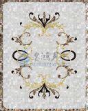 Materiale da costruzione delle coperture madreperlacee naturali speciali dell'impiallacciatura per la decorazione della parete