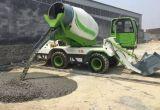 85kw Yuchaiエンジンを搭載する4立方メートルの具体的なミキサーのトラック