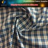Товары пятен, ткань тканья проверки полиэфира для одежды (X021-24)