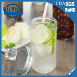 bottiglia di vetro senza piombo della tazza dell'ostruzione della salsa uovo di pesce di GE del Luo del muratore 350ml