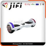 Scooter électrique d'équilibre sec de batterie au lithium de deux roues