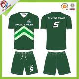 Le club badine l'uniforme du football, le football Jersey d'enfants avec l'impression de Digitals de sublimation