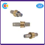 Pin втулки латуни 4.8/8.8/10.9 GB/DIN/JIS/ANSI шестиугольный медный для Railway здания