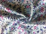 China poliéster impresión barato al por mayor de tejido de gasa para las mujeres visten y blusa