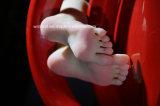 38#Silicone女性の擬似フィート、フィートモデルの中の内部骨