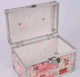 [بورتبل] تخزين محترفة بنية صندوق بنية أكريليكيّ ومجوهرات حالات