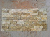 Heißer rostiger Stein deckt kulturelle Ledgestone Schiefer-Fußboden-Wand-Umhüllung mit Ziegeln