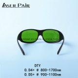 Bescherming 980nm, 1064nm, 1320nm, 1470nm van Eyewear van de laser 800 - 1700nm de Beschermende brillen van de Veiligheid van de Golflengte Protecive voor Dioden, Nd: YAG