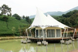 Großes Hotel-Haus-Festzelt-Zelt-Familien-Luxuxzelt mit SGS