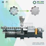 Plastikaufbereitenmaschine im Kunststoffhaustier-Abfall füllt Granulierer-Maschinen ab