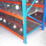 Piattaforma d'acciaio di memoria del magazzino per la scaffalatura lunga della portata