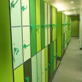 De kleurrijke Waterdichte Gelamineerde Kasten van de Zaal van de Sauna